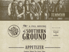 Zac Brown Band Spotify Contest