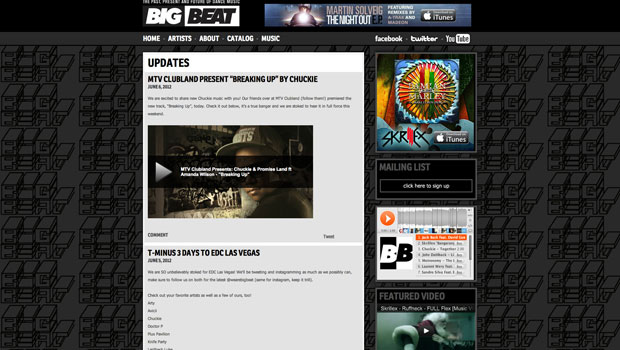 Big Beat WP Site