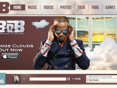 B.o.B Custom Soundcloud Player