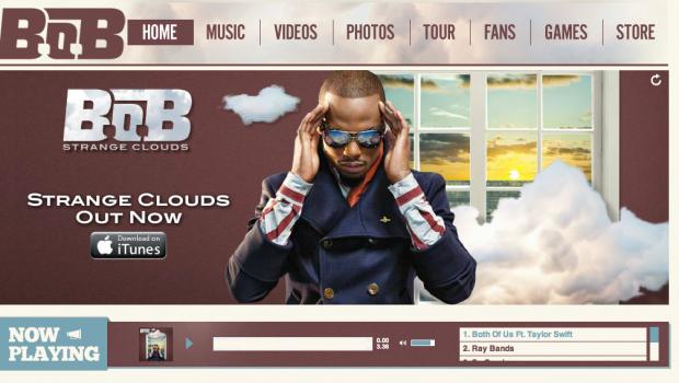 B.o.B Custom Soundcloud Player