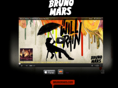Bruno Mars 'It Will Rain' Premiere