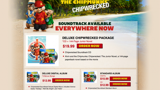 Chipwrecked Soundtrack Store