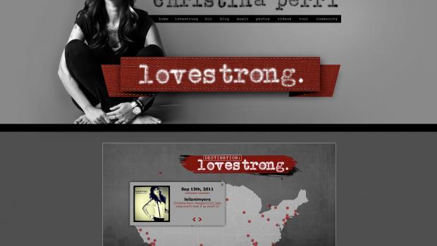 Christina Perri Instagram Tour Map