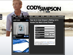 Cody Simpson Fan Photos