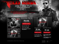 Flo Rida Pre-Order Page