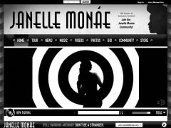 Janelle Monae Custom Soundcloud Player