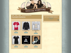 The Joy Formidable WP Web Store