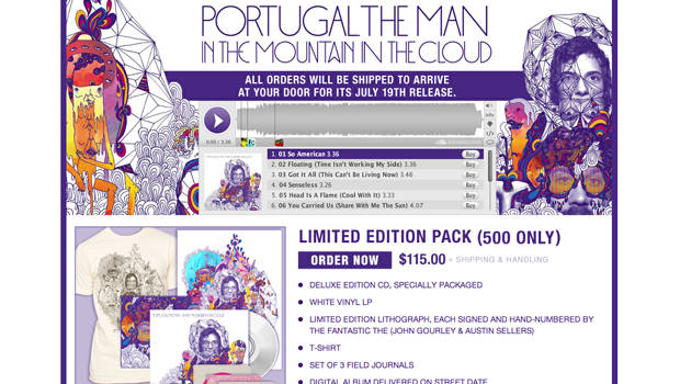 Portugal. The Man Pre-Order Page