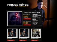 Prince Royce Web Store