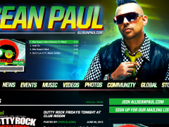 Sean Paul Custom Soundcloud Player