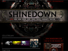 Shinedown Custom Soundcloud Player