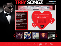 Trey Songz 'Love Faces' Instagram Feed