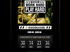 Wiz Khalifa 'Work Hard Play Hard' Countdown